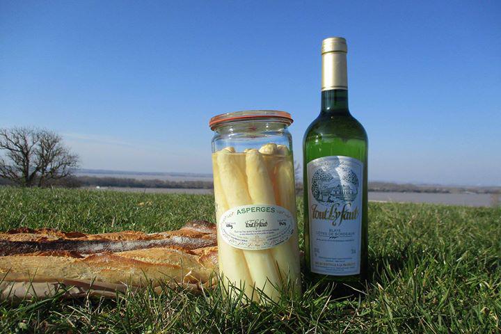 Asperges du blayais et vin de blaye côtes de bordeaux : un assemblage parfait