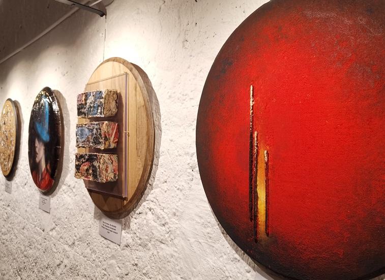 L'art à la rencontre du vin : exposition « Les Tondos des Chaumes »