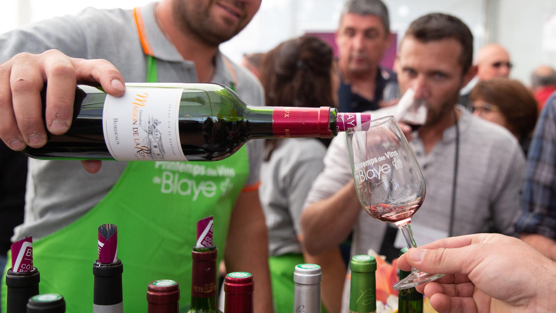 Les dégustations de vins