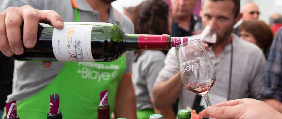 vin rouge bouteille bordeaux blaye