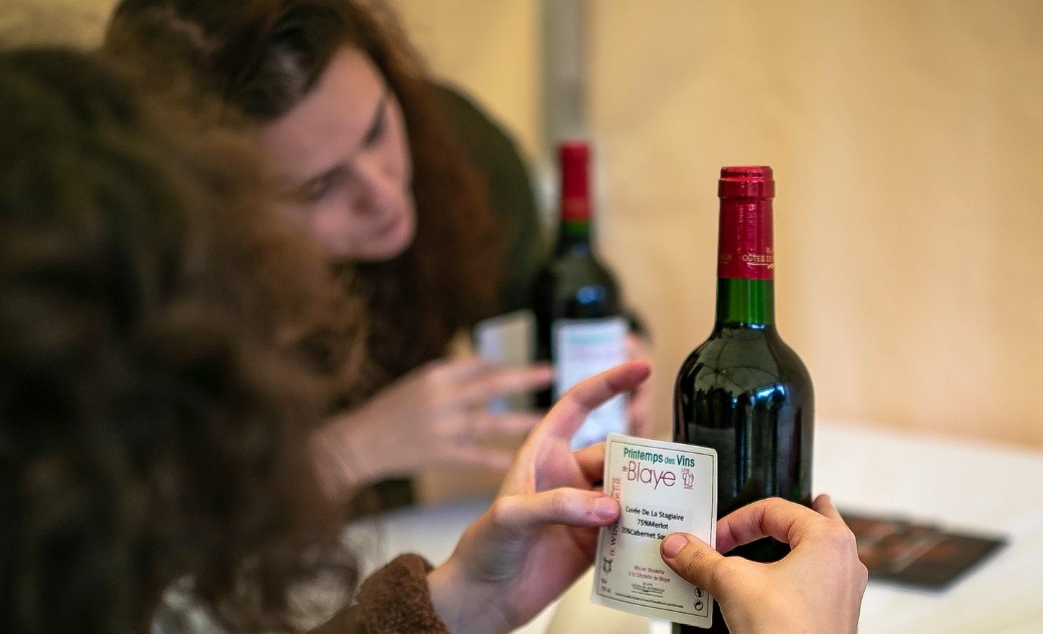 Atelier assemblage du vin