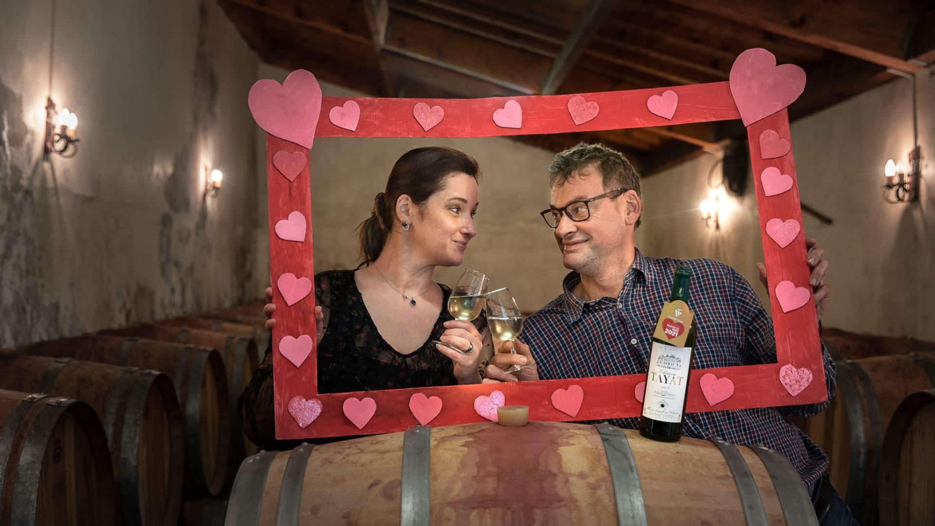 En couple à la vie comme à la vigne !